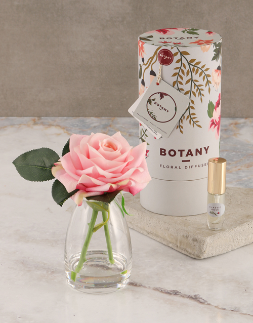 mothers-day: Botany Small Pink Silk Rose Diffuser!