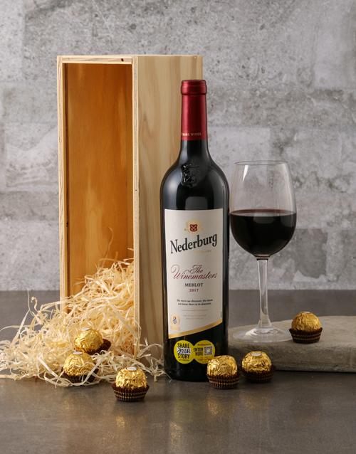 christmas: Nederberg Winemasters and Ferrero Rocher Gift Box!