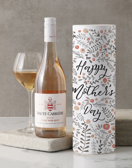 fine-alcohol: Mothers Day Haute Cabriere Wine Tube!
