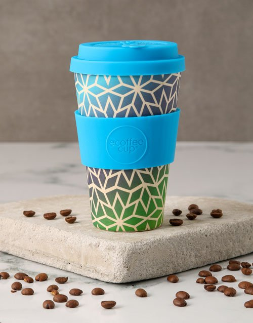 christmas: Blue Ombre Travel Eco Cup!