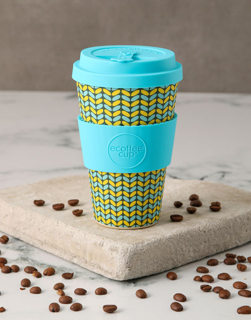 christmas: Patterned Travel Eco Cup!