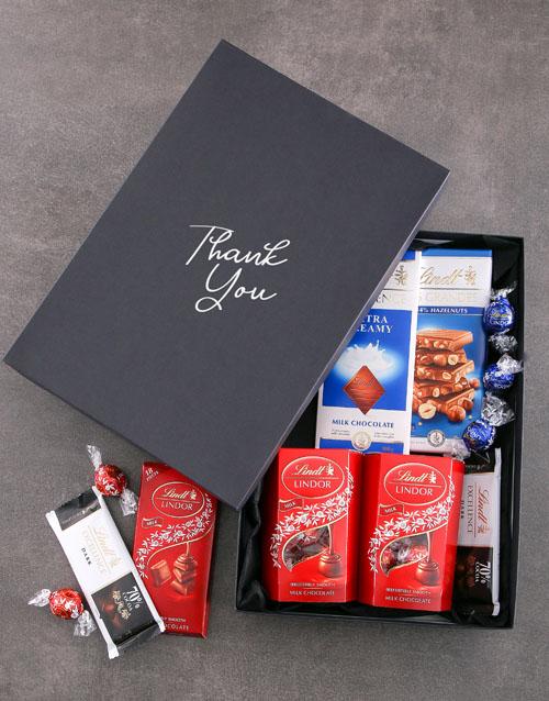 chocolate: Gratitude Lindt Chocolate Box!