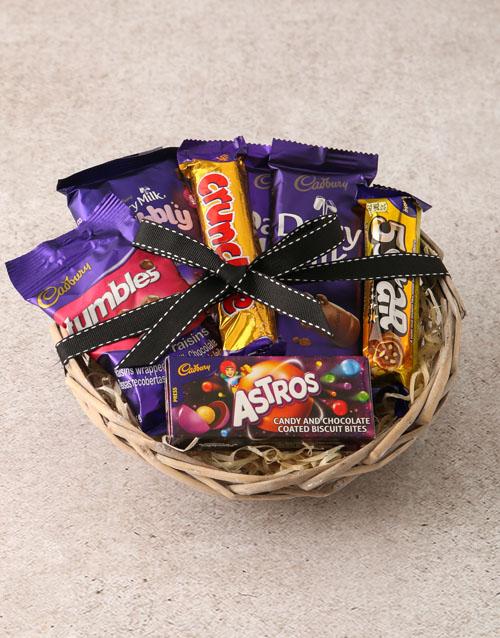 womens-day: Cadbury Chocolate Basket Hamper!