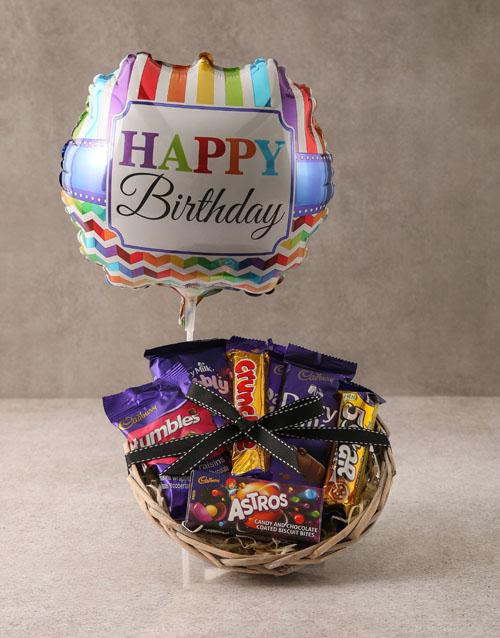 birthday: Cadbury Chocolate Birthday Basket!