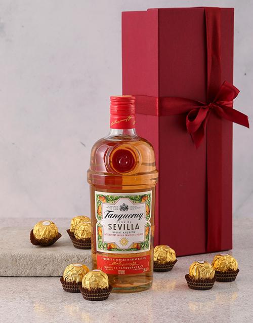 fine-alcohol: Tanqueray Flor Del Sevilla Gift Hamper!