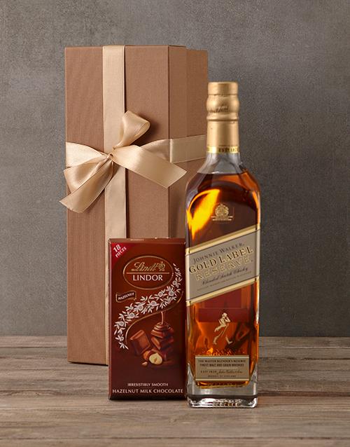 grandparents-day: Johnnie Walker Gold Gift Box!