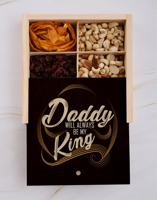 christmas: Fathers Day My King Fruit And Nut Crate!