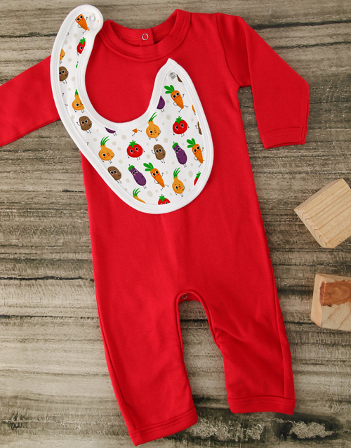 baby: Freshly Grown Red Baby Outfit!