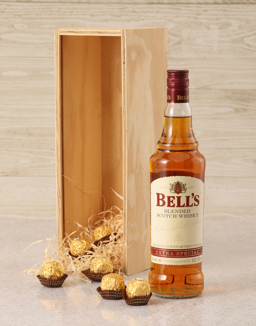 fine-alcohol: Bells Whisky Crate!