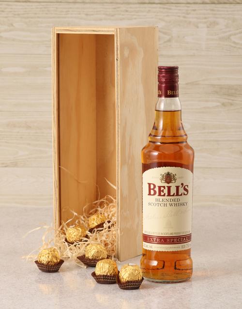 rosh-hashanah: Bells Whisky Crate!
