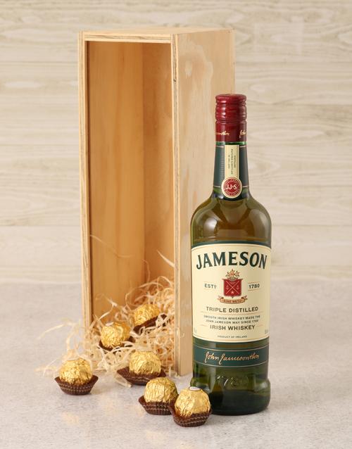 anniversary: Jameson Irish Whiskey Crate!