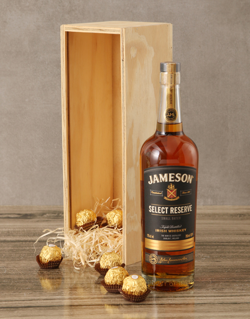 rosh-hashanah: Jameson Select Reserve Whiskey Crate!