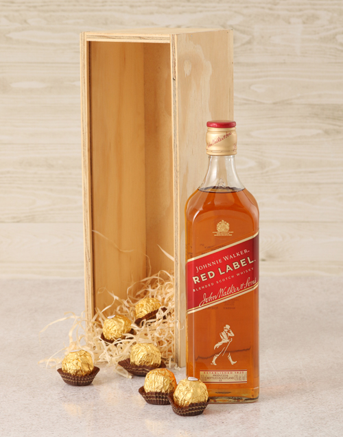 christmas: Johnnie Walker Red Label Crate!