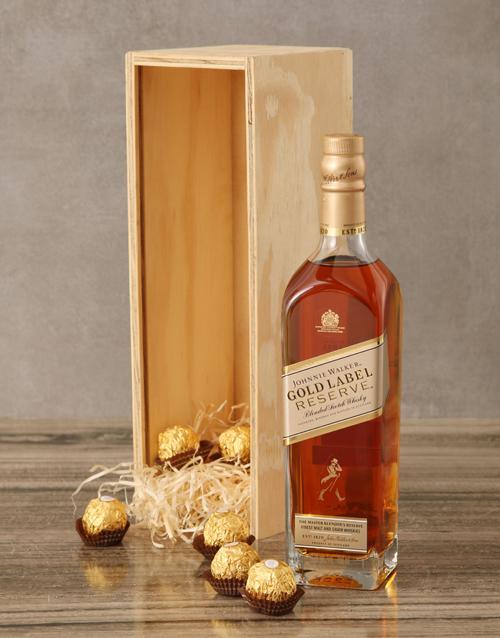 rosh-hashanah: Johnnie Walker Gold Label Reserve Crate!