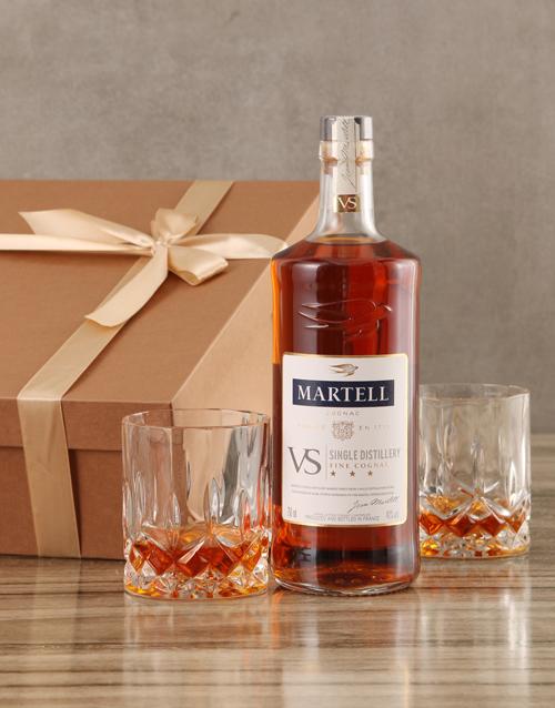 fine-alcohol: Martell VS Cognac Set!