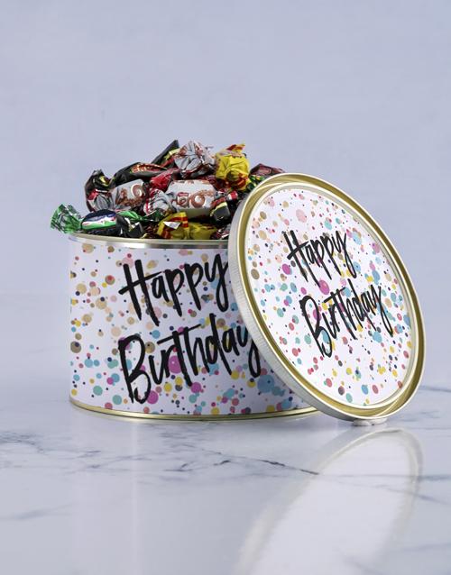 birthday: Happy Birthday Treat Tin!