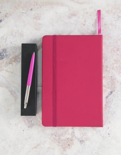 christmas: Parker Pen Pink Gift Set!