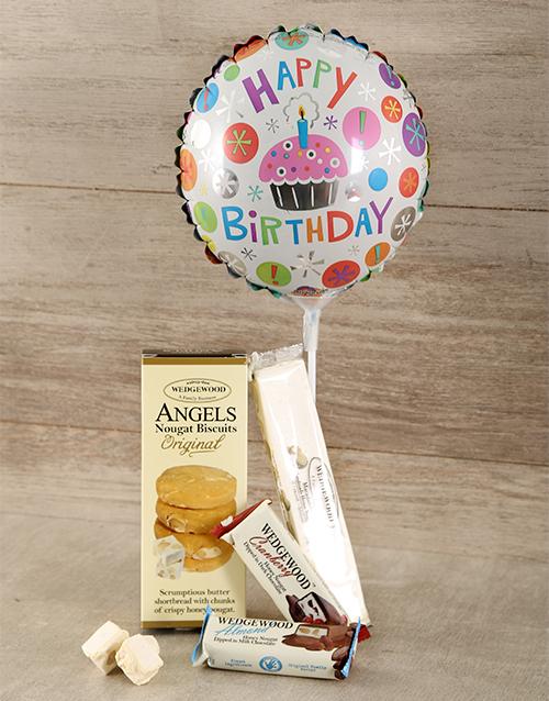chocolate: Happy Birthday Nougat Hamper!