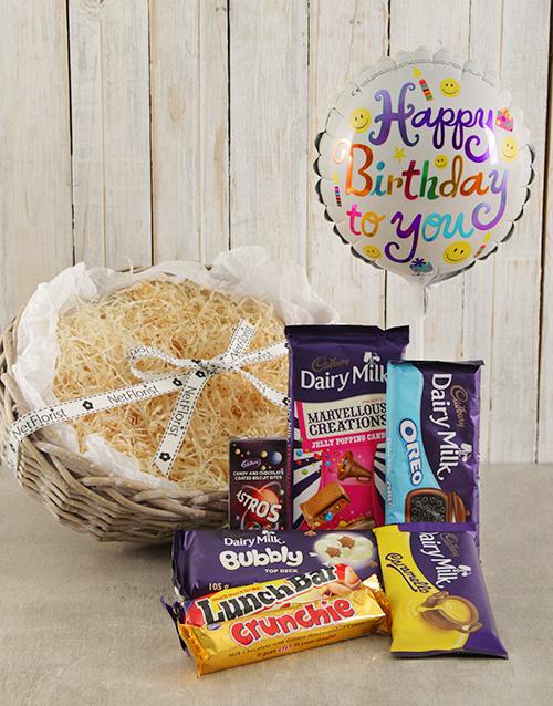 chocolate: Happy Birthday Cadbury Choc Hamper!