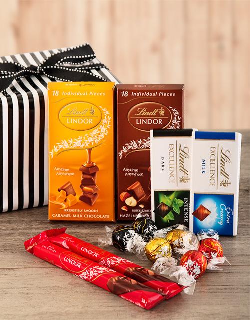 chocolate: Lindt Chocolate Sensation Hamper!