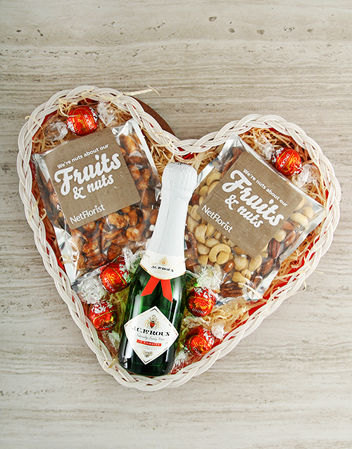 chocolate: Big Heart Basket Mix!