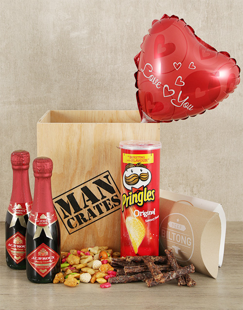 valentines-day: Date Night Man Crate!