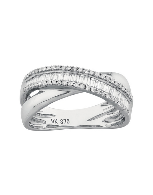 rings: Baguette Diamond Dress Ring!