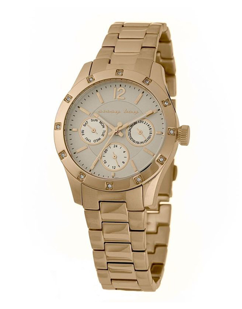 sissy-boy: Sissy Boy Ladies Champagne Dial Couture Watch!