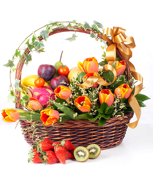 gifts: Tulips and Tasty Treats!