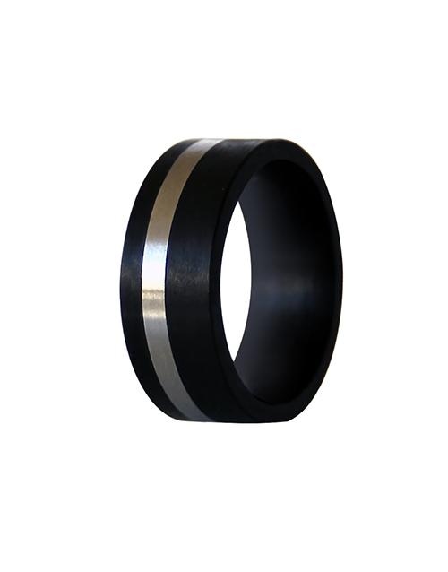sale: Carbon Fibre Gents Wedding Band Size O!