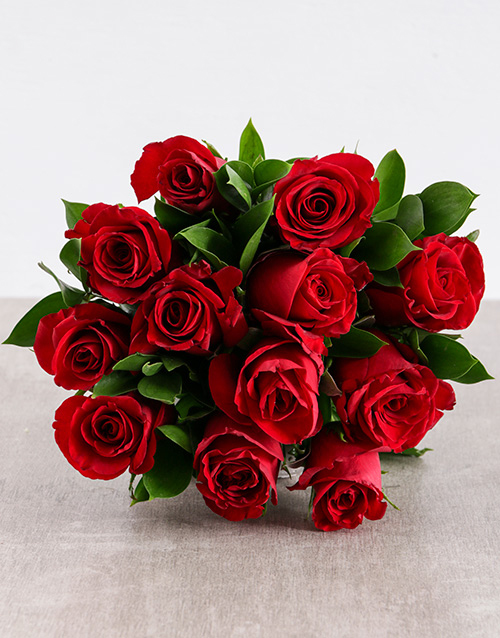 Red Roses In Craft Paper Flowers Netflorist