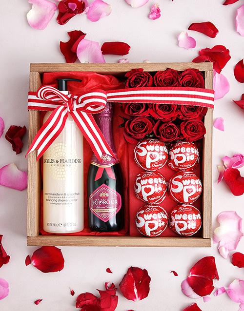roses: Sweetie Pie Pamper Crate!