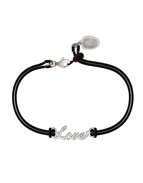 love-and-romance: Memi Love Cord Bracelet!