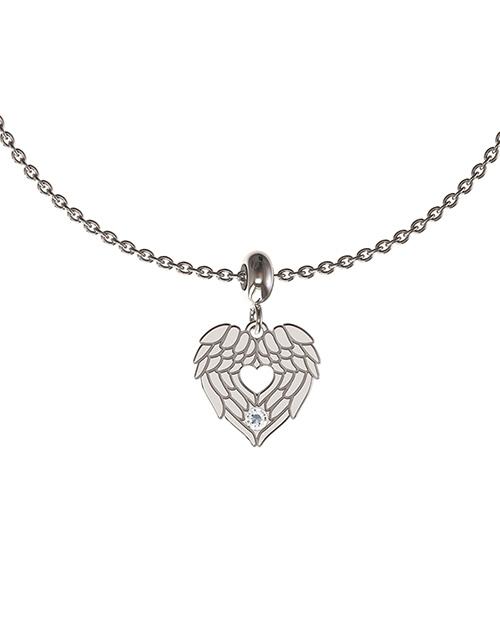 anniversary: Memi Angel Wing Diamond Disc Charm!