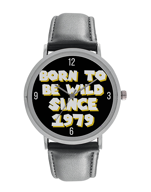 digitime: Personalised Born To Be Wild Digitime Watch!