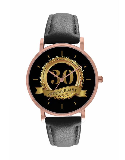 anniversary: Personalised Anniversary Year Watch!