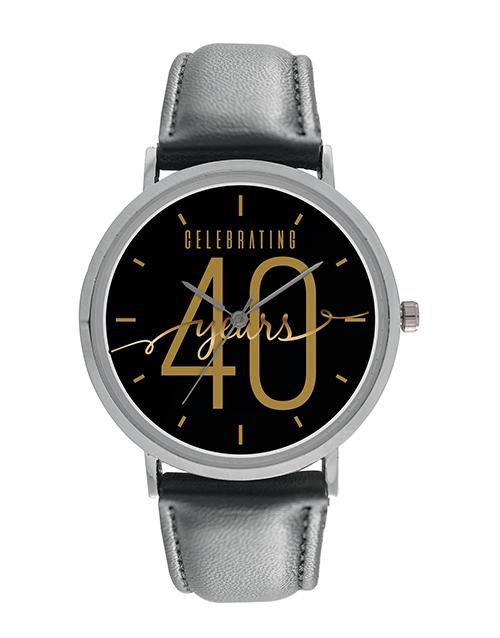 anniversary: Digitime Celebrating 40 Years Personalised Watch!