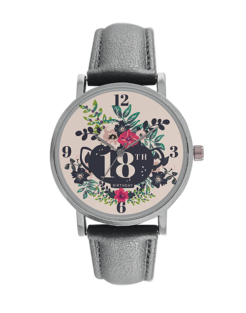 christmas: Personalised Ladies Floral Birthday Watch!