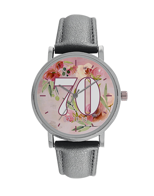 christmas: Ladies 70 Personalised Watch!