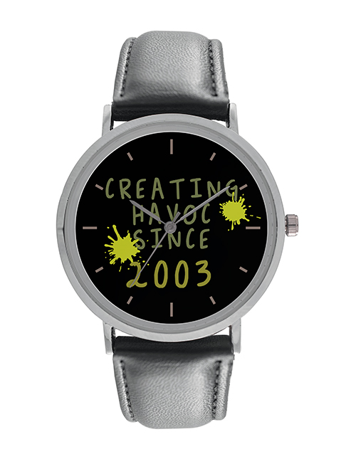 birthday: Personalised Gents Havoc Watch!