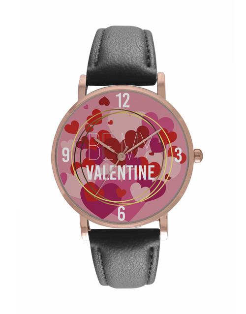 valentines-day: Personalised Be My Valentine Digitime Watch!