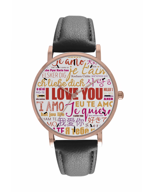 valentines-day: Personalised I Love You Digitime Watch!