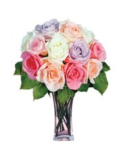 Picture of 12 Pastel Roses!