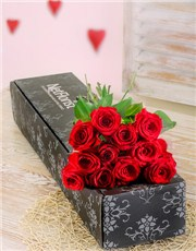 Picture of A Dozen Red Roses in a Box!