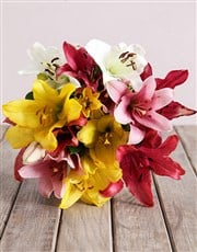 Picture of Bouquet of Mixed Lilies!