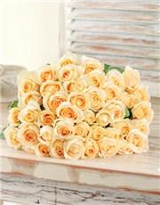 Picture of 15 Cream Roses !