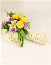 Picture of Serene Sympathy Floral Tribute!