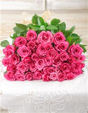 Picture of Cerise Rose Bouquet!