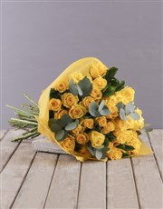 Picture of Yellow Roses Bouquet!