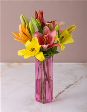 Picture of Loving Lily Arrangement!